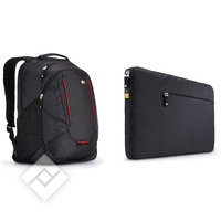 CASE LOGIC BACKPACK + SLEEVE 15.6ÂÂ