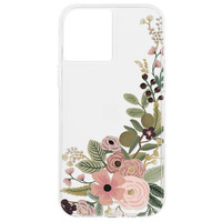 CASE MATE Coque iPhone 12 Mini Imprimé Fleur Garden Party Rifle Paper Case Mate - Rose