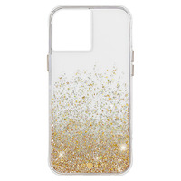 CASE MATE Coque iPhone 12 / 12 Pro Design pailleté Anti-chute 3m Twinkle Ombre Doré