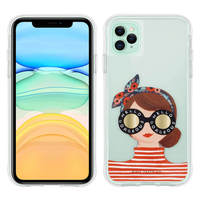 CASE MATE COQUE IPHONE 11 PRO MAX DESIGN GORGEOUS GIRL ANTI-CHUTE RIFLE PAPER CASE MATE