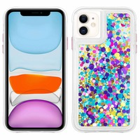 CASE MATE COQUE IPHONE 11 PROTECTION COLLECTION CONFETTIS WATERFALL CASE MATE - VIOLET