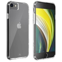 CASE MATE Coque iPhone SE 2020 Protection Rigide Antichoc Chutes 3m Case Mate Transparent