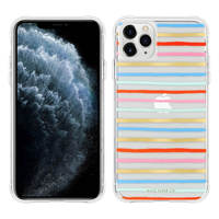 CASE MATE COQUE IPHONE 11 PRO MAX RAYURES HAPPY STRIPES RIFLE PAPER CASE MATE MULTICOLORE