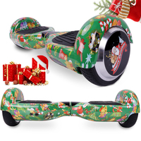COOL&FUN COOL&FUN 6.5 POUCES VERT BLUETOOTH HOVERBOARD GYROPODE ELECTRIC SCOOTER, CHRISTMAS GIFT