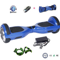 COOL&FUN  6.5 INCH BLUETOOTH HOVERBOARD GYROPODE BLEU