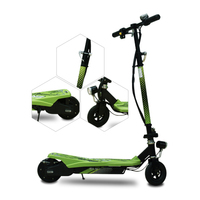 COOL&FUN  SCOOTER FOLDABLE ELEKTRISCHE FOR KIDS GROEN