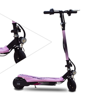 COOL&FUN  SCOOTER FOLDABLE ELEKTRISCHE FOR KIDS ROZE