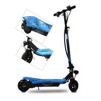 COOL&FUN FOLDABLE ELEKTRISCHE SCOOTER FOR KIDS BLAUW