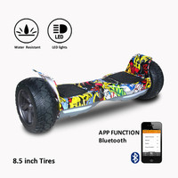 COOL&FUN HOVERBOARD HUMMER HIPHOP 4 X 4 TOUT TERRAIN BLUETOOTH