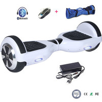 COOL&FUN  HOVERBOARD GYROPODE 6.5 POUCES BLANC BLUETOOTH