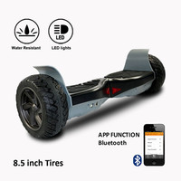 COOL&FUN HOVERBOARD GYROPODE APP&BLUETOOTH 8,5 POUCES NOIR SUV