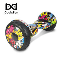COOL&FUN  HOVERBOARD BLUETOOTH 10 POUCES HORSEBOARD HIP-HOP DESIGN