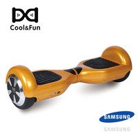 COOL&FUN HOVERBOARD GYROPODE BLUETOOTH 6,5 POUCES DORÉ