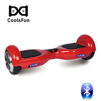COOL&FUN  HOVERBOARD GYROPODE BLUETOOTH 6,5 POUCES ROUGE