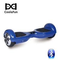 COOL&FUN  HOVERBOARD GYROPODE BLUETOOTH 6,5 POUCES BLEU