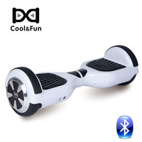 COOL&FUN  HOVERBOARD GYROPODE BLUETOOTH 6,5 POUCES BLANC