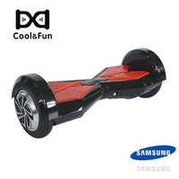 COOL&FUN COOL&FUN HOVERBOARD BATTERIE SAMSUNG BLUETOOTH GYROPODE 8 POUCES NOIR ROUGE