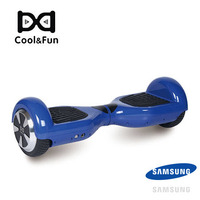 COOL&FUN  HOVERBOARD GYROPODE BATTERIE SAMSUNG BLUETOOTH 6,5 POUCES BLEU