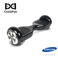 COOL&FUN HOVERBOARD GYROPODE BATTERIE SAMSUNG BLUETOOTH 6,5 POUCES NOIR