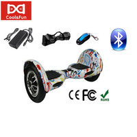COOL&FUN HOVERBOARD BLUETOOTH GYROPODE 10 POUCES MOTIF DESIGN