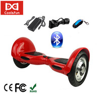 COOL&FUN HOVERBOARD BLUETOOTH GYROPODE 10 POUCES ROUGE