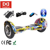 COOL&FUN  HOVERBOARD BLUETOOTH GYROPODE 10 POUCES HIP-HOP