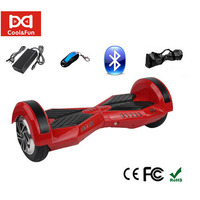 COOL&FUN  HOVERBOARD BLUETOOTH GYROPODE 8 POUCES ROUGE NOIR