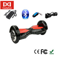 COOL&FUN COOL&FUN HOVERBOARD BLUETOOTH GYROPODE 8 POUCES NOIR ROUGE