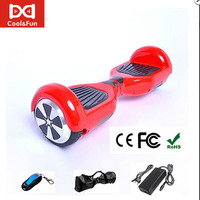 COOL&FUN HOVERBOARD GYROPODE 6,5 POUCES ROUGE