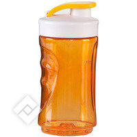 DOMO 300ML BLENDERBOTTLE ORANG