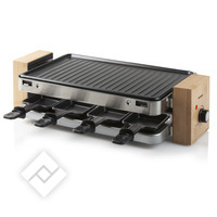 DOMO Raclette-grill bamboo