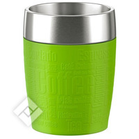 EMSA TRAVEL CUP 0.2L INOX/LIME