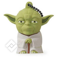 TRIBE FD007404 DISNEY STAR WARS PENDRIVE FIGURINE 8 GO FANTAISIE CL? USB FLASH DRIVE 2.0 MEMORY STICK SOLUTIONS DE STOCKAGE, PORTE-CL?S, YODA, VERT