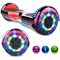EVERCROSS EVERCROSS HOVERBOARD BLUETOOTH 6.5 POUCES GYROPODE MOTEUR 2*350W ROUGE