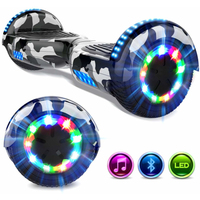 EVERCROSS EVERCROSS HOVERBOARD BLUETOOTH 6.5 POUCES GYROPODE MOTEUR 2*350W CAMOUFLAGE
