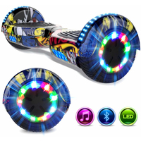 Evercross EVERCROSS HOVERBOARD BLUETOOTH 6.5 POUCES GYROPODE MOTEUR 2*350W HIP