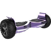 EVERCROSS EVERCROSS HOVERBOARD SUV HUMMER GYROPODE TOUT TERRAIN BLUETOOTH APPLICATION VIOLET CHORME