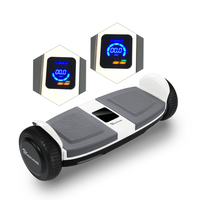 EVERCROSS EVERCROSS MINIROBOT HOVERBOARD BLUTOOTH GYROPODE 6.5 POUCES ÉCRAN LED ELECTRIC SCOOTER