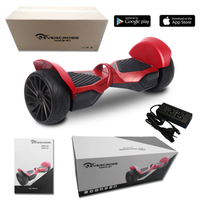 EVERCROSS  MONSTER HOVERBOARD GYROPODE HUMMER 8.5 POUCES ROUGE