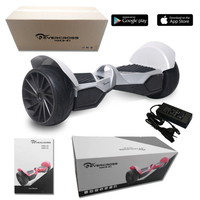 EVERCROSS  MONSTER HOVERBOARD GYROPODE HUMMER 8.5 POUCES GRIS