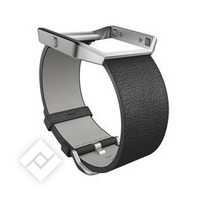 FITBIT BLAZE LEATHER BAND BLACK