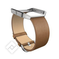 FITBIT BLAZE ACC BAND LEATHER BR