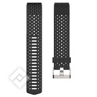FITBIT CHARGE HR 2 ACCESSORY SPORT BRACELET - BLACK - LARGE