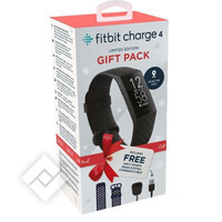 FITBIT CHARGE HR 4 BLACK BUNDLE