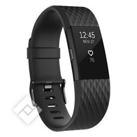 FITBIT CHARGE 2 BLACK GUNMETAL LARGE