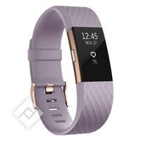 FITBIT CHARGE 2 ROSE GOLD LARGE