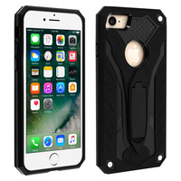 Forcell Coque iPhone 7/8 Protection Hybride Série Phantom by Forcell noir