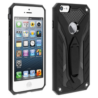 FORCELL COQUE IPHONE 5 / 5S / SE PROTECTION HYBRIDE SÉRIE PHANTOM BY FORCELL NOIR