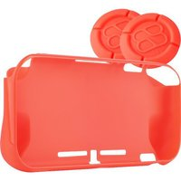 Fr-tec Nintendo Switch Lite Protection Bumper met XL Thumb Grips - Rood