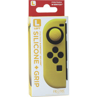 FR-TEC JOY CON SILICONE SKIN + GRIP - LEFT - YELLOW VOOR NINTENDO SWITCH